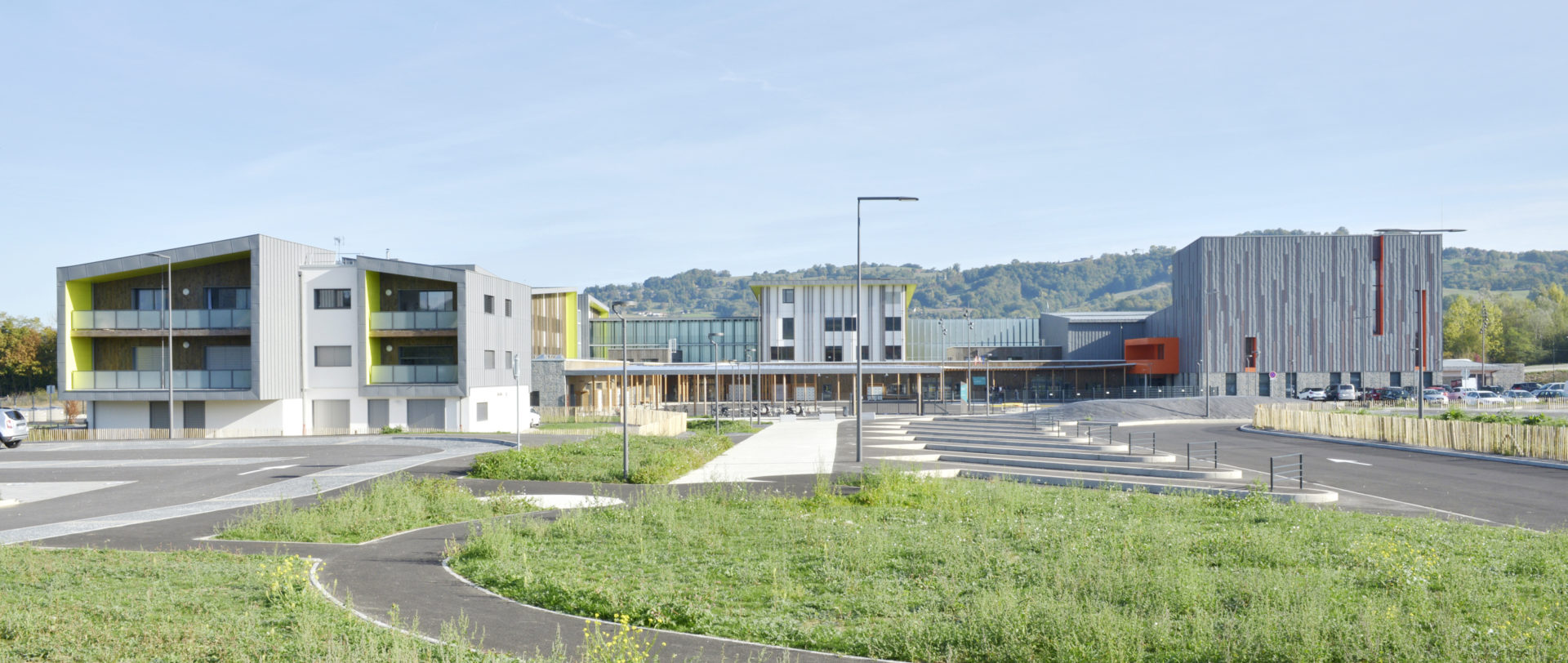 Complexe Sportif Bois Paille Passif Rumilly 74 Aer Architecte